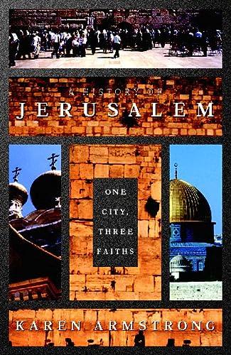 9780002555227: Jerusalem One City Three Faiths - 1996 publication.