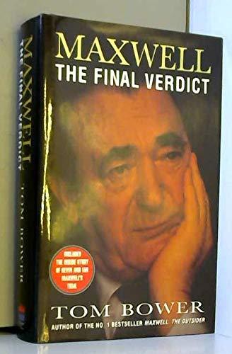 9780002555647: Maxwell: The Final Verdict