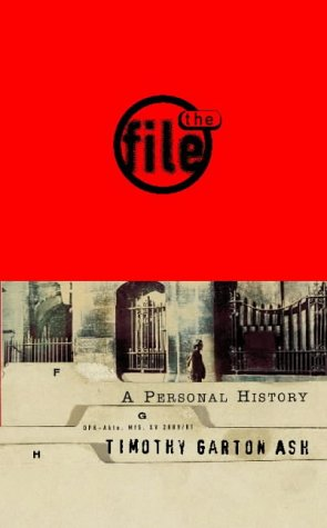 9780002558235: The File: A Personal History