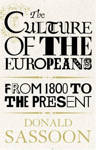 9780002558792: The Culture of the Europeans