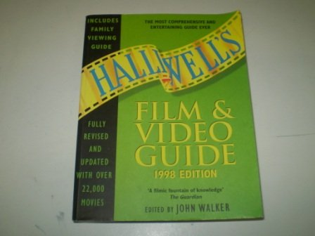 9780002559324: Halliwell's Film and Video Guide 1998