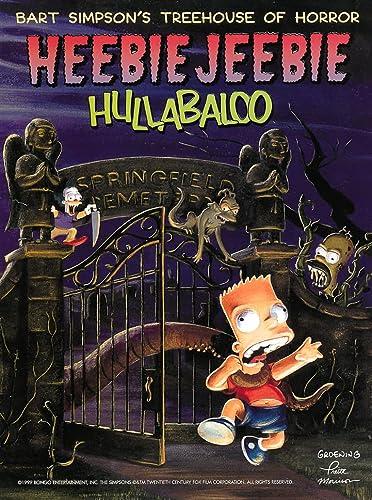 9780002571180: Heebie Jeebie Hullabaloo (Bart Simpson's Treehouse of Horror)
