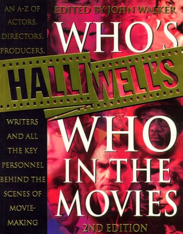 9780002572149: Halliwell's Who's Who in the Movies