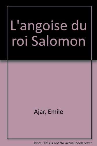 9780002614580: L'angoise du roi Salomon