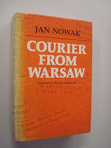 9780002621212: Courier from Warsaw