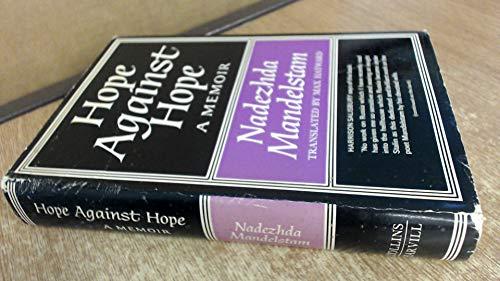 9780002625012: Hope Against Hope: A Memoir