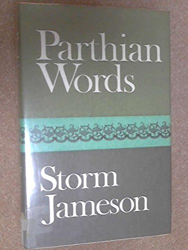 9780002626361: Parthian Words