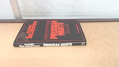 9780002626484: Prussian Nights
