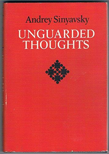 Unguarded Thoughts.: Andrey Sinyavsky.