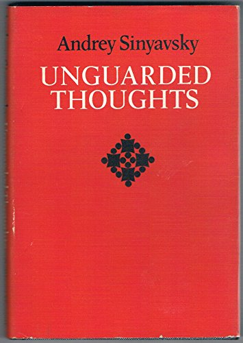 9780002629409: Unguarded Thoughts