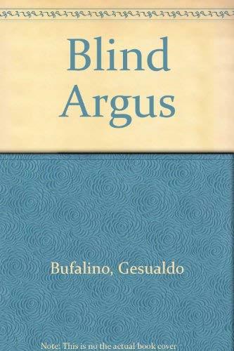 9780002710169: Blind Argus