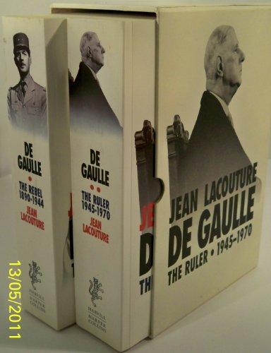 9780002712880: De Gaulle Vol I: The Rebel, 1890-1944: The Rebel, 1890-1944 Vol 1