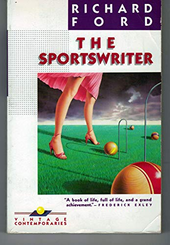 9780002717458: THE SPORTSWRITER.