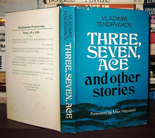 9780002717571: Three, Seven, Ace
