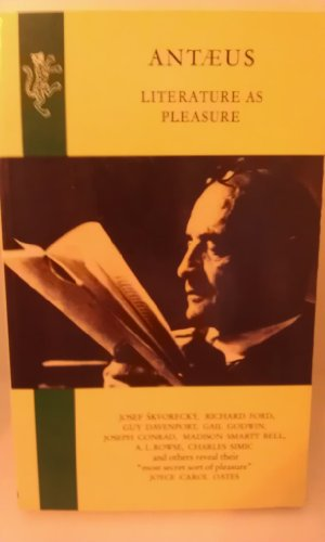 9780002720366: Antaeus: Literature as Pleasure