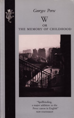 9780002720380: W. or the Memory of Childhood
