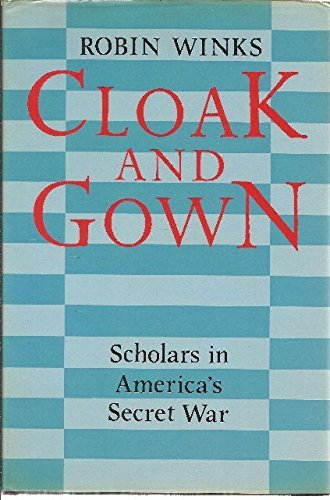 9780002721240: Cloak and Gown: Scholars in America's Secret War