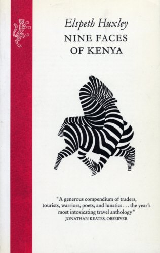 9780002721738: Nine Faces of Kenya