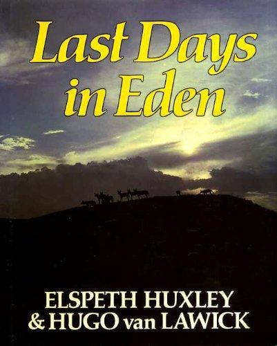 9780002724470: Last Days in Eden