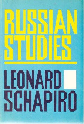9780002727099: Russian Studies