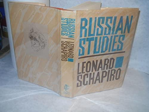 9780002727105: Russian Studies