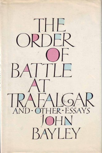 9780002728485: The Order of Battle at Trafalgar and Other Essays