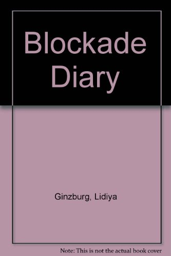 9780002730341: Notes From the Blockade
