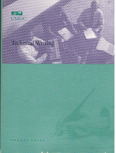 9780002881944: Technical Writing Course Guide NEW