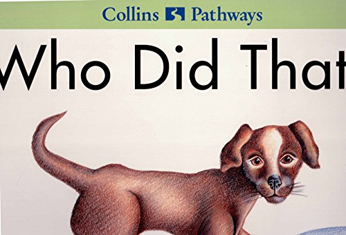 9780003014907: Who Did That: Big Book (Collins Pathways)
