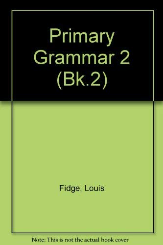 9780003023015: Collins Primary Grammar: Bk.2
