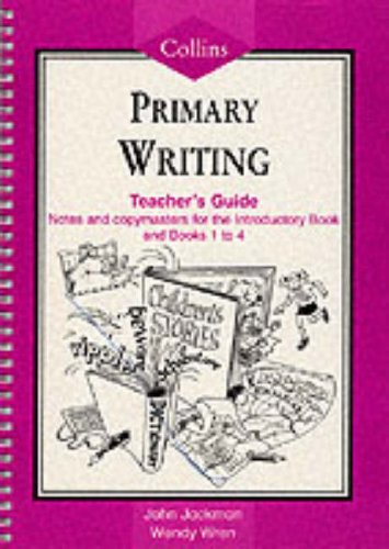 9780003023459: Collins Primary Writing: Teacher Resource Book