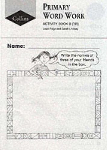 9780003024821: Collins Primary Word Work (2) - Activity Book B: Reception: Reception Level Activity Book B (Collins primary word book)