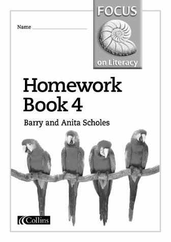 9780003025149: Focus on Literacy (30) - Homework Book 4: Homework Bk.4
