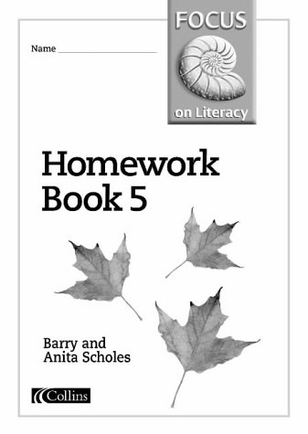 9780003025156: Focus on Literacy (37) - Homework Book 5: Homework Bk.5