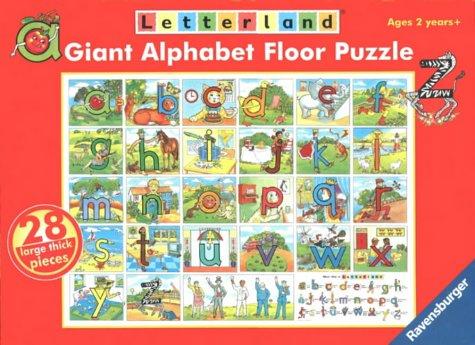 9780003030969: Letterland - Alphabet Puzzle