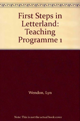 9780003031188: First Steps in Letterland: Teaching Programme 1