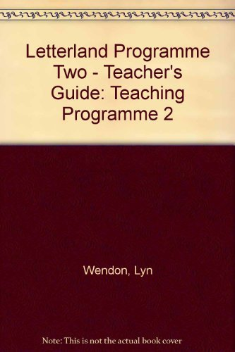 9780003031287: Letterland Programme Two - Teacher's Guide: Teaching Programme 2
