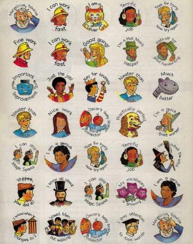 9780003031874: Letterland - Merit Stickers