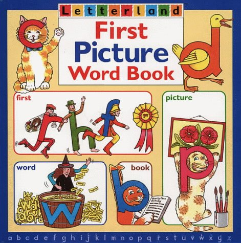 9780003032802: First Picture Word Book (Letterland)