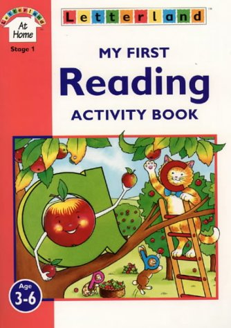 9780003032833: My First Reading Activity Book (Letterland at Home)