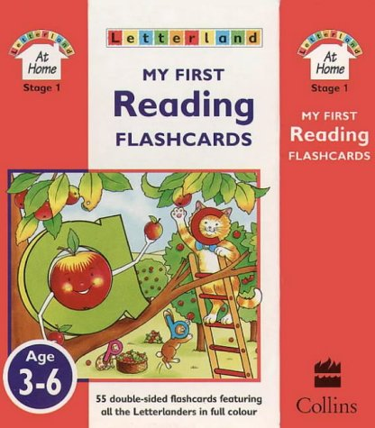 9780003032901: Letterland At Home Stage 1 - My First Reading Flashcards: Pack 1