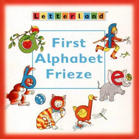 9780003032932: First Alphabet Frieze (Letterland)