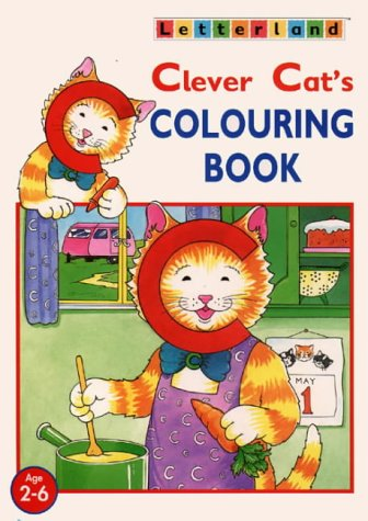 9780003032949: Clever Cat's Colouring Book (Letterland at Home)