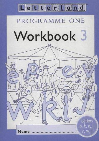 9780003033045: Letterland Programme One - Workbook 3: Workbook 3 Programme 1