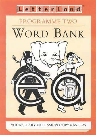 9780003033076: Letterland Programme Two - Word Bank Copymasters: Wordbank Copymasters Programme 2