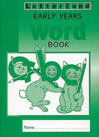 9780003033144: Letterland - Early Years Word Book