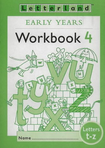9780003033243: Letterland: Early Years: Workbook 4