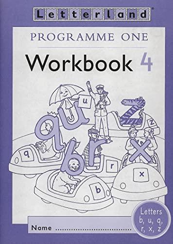 9780003033489: Letterland: Programme One: Workbook 4 (Letterland - Programme 1)