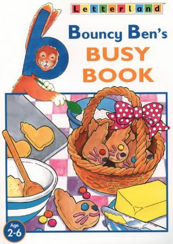 9780003033632: Letterland Activity - Bouncy Ben's Busy Book (Letterland at Home)