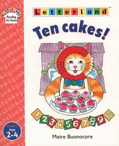 9780003033762: Ten Cakes! (Letterland Reading at Home)